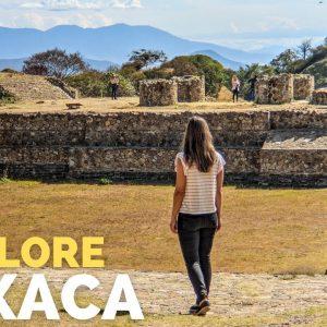 Oaxaca Mexico is AMAZING! | Mezcal Tour & Monte Alban Ruins Travel Vlog