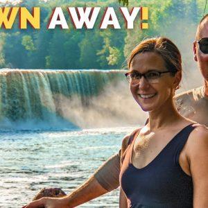 Tahquamenon Falls to Kitch-iti-Kipi Spring   Northern Michigan RV Road Trip