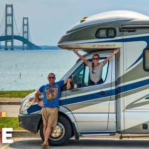 Epic Upper Peninsula RV Camping Trip | Things to Do + Where to Camp in U.P. Michigan