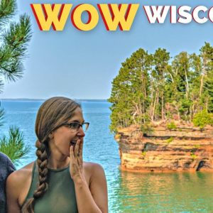 Apostle Islands National Lakeshore is Incredible! | Wisconsin RV Travel Vlog