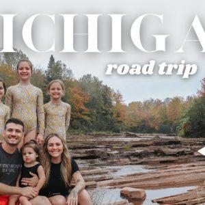 Michigan road trip! | RV camping around Michigan's Upper Peninsula in the fall | autumn in the U.P.