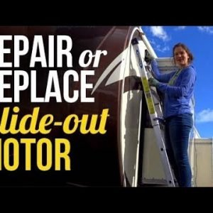 Repair An RV Schwintek Slide-out Motor: RV Life Maintenance
