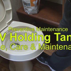 RV 101® - RV Holding Tanks Use, Care & Maintenance