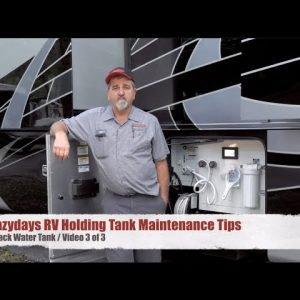 RV Black Water Tank Maintenance Tips - Video 3 of 3 | Lazydays RV Service