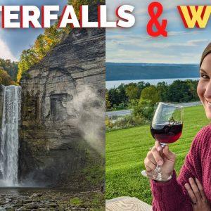 RVing the Finger Lakes New York | Wine, Waterfalls, & Watkins Glen State Park